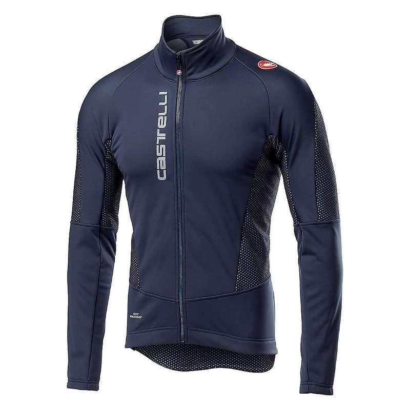 カステリ メンズ ジャケット・ブルゾン アウター Castelli Men's Mortirolo V Jacket Dark Steel Blue