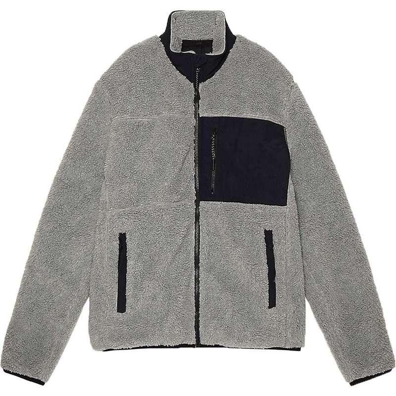 ペンフィールド メンズ ジャケット・ブルゾン アウター Penfield Men's Mattawa Fleece Jacket Grey