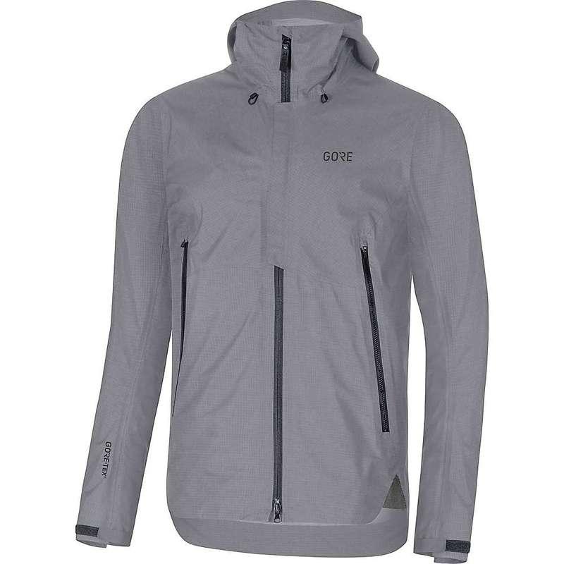 ゴアウェア メンズ ジャケット・ブルゾン アウター Gore Wear Men's H5 GTX Active Hooded Jacket Terra Grey
