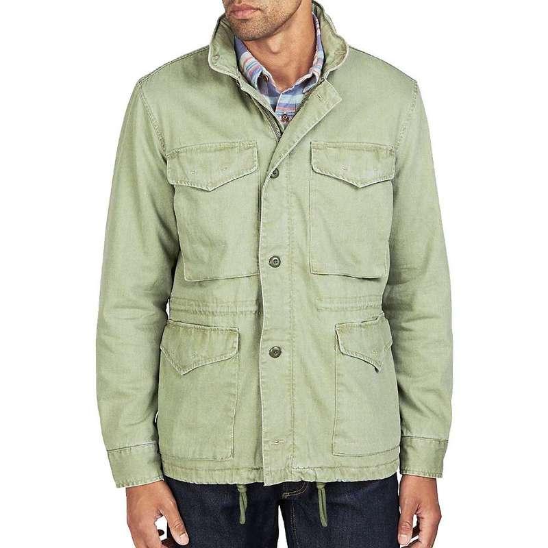 ファレティ メンズ ジャケット・ブルゾン アウター Faherty Vintage M65 Jacket Olive