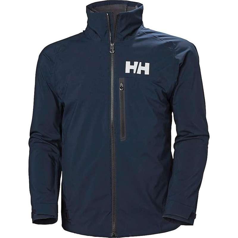 ヘリーハンセン メンズ ジャケット・ブルゾン アウター Helly Hansen Men's HP Racing Midlayer Jacket Navy