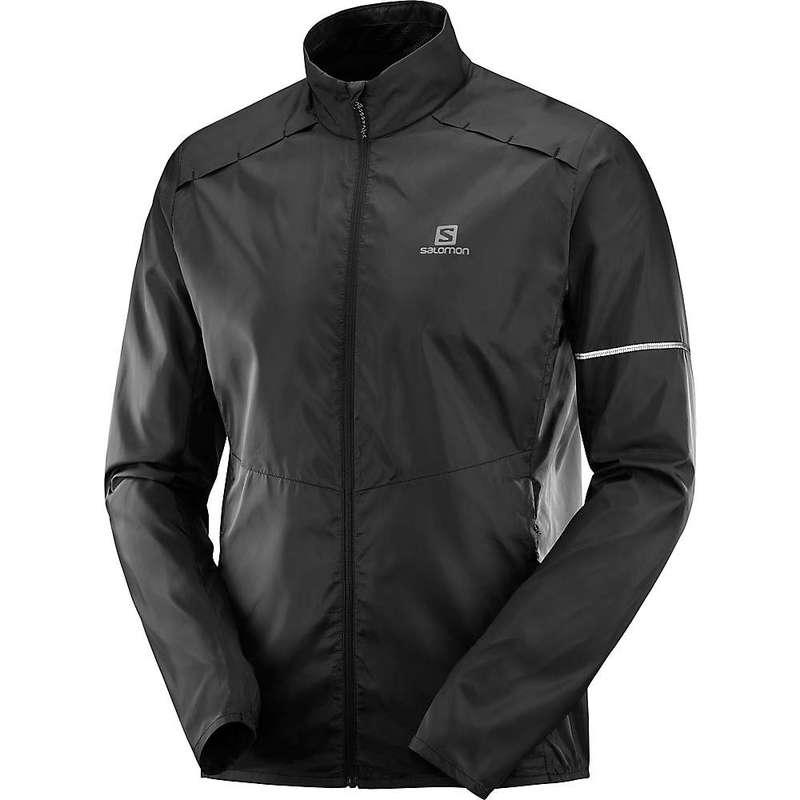 サロモン メンズ ジャケット・ブルゾン アウター Salomon Men's Agile Wind Jacket Black