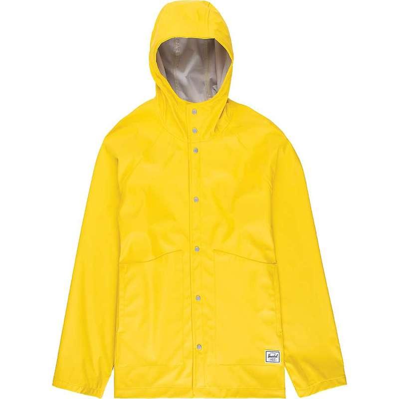 ハーシャル メンズ ジャケット・ブルゾン アウター Herschel Supply Co Men's Classic Rain Jacket Cyber Yellow