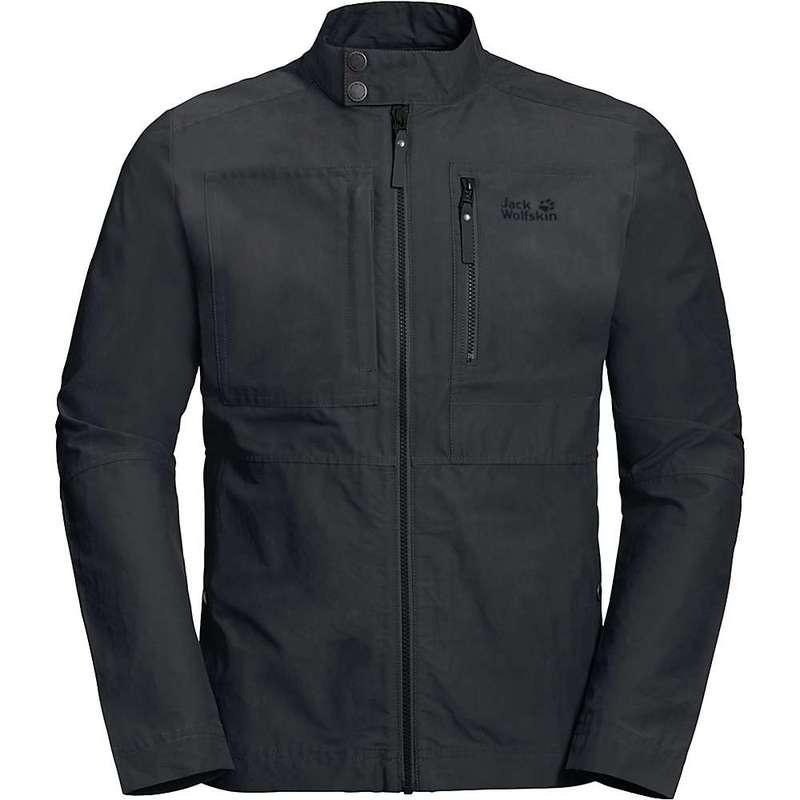 ジャックウルフスキン メンズ ジャケット・ブルゾン アウター Jack Wolfskin Men's Port Lincoln Jacket Phantom