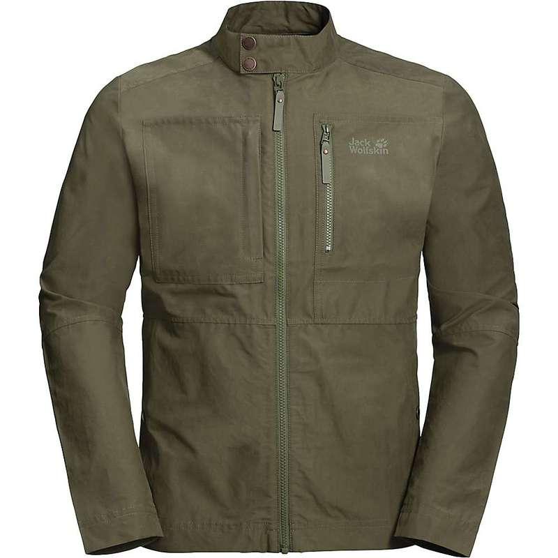 ジャックウルフスキン メンズ ジャケット・ブルゾン アウター Jack Wolfskin Men's Port Lincoln Jacket Woodland Green