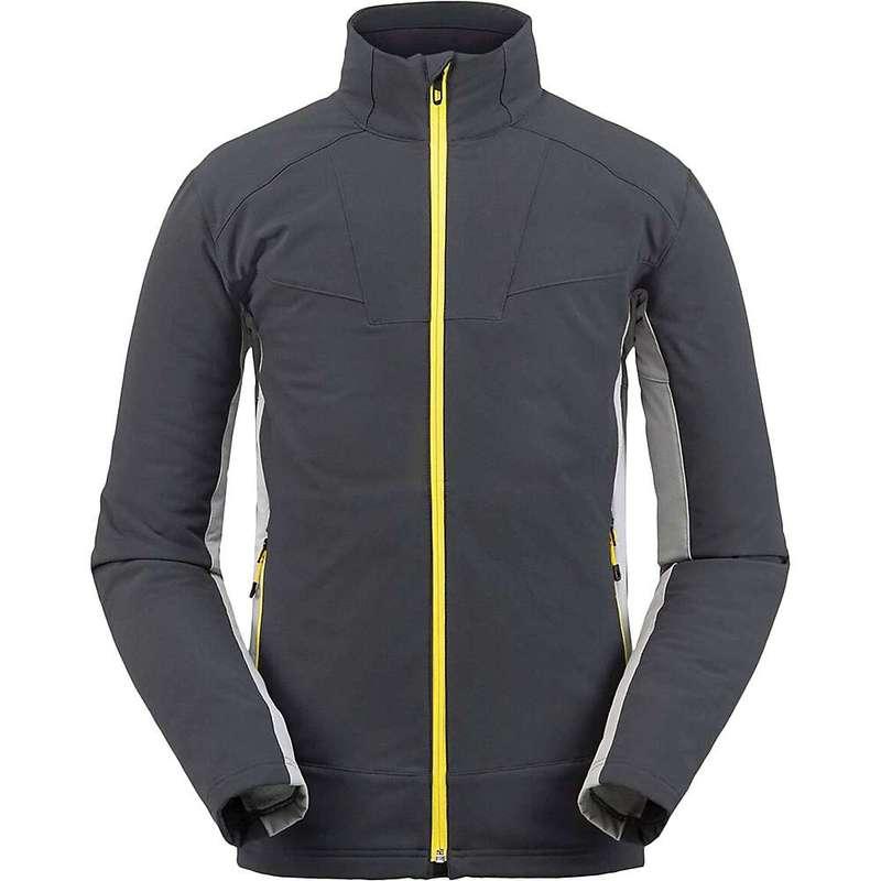 スパイダー メンズ ジャケット・ブルゾン アウター Spyder Men's Ascender Light Full Zip Fleece Jacket Ebony Alloy