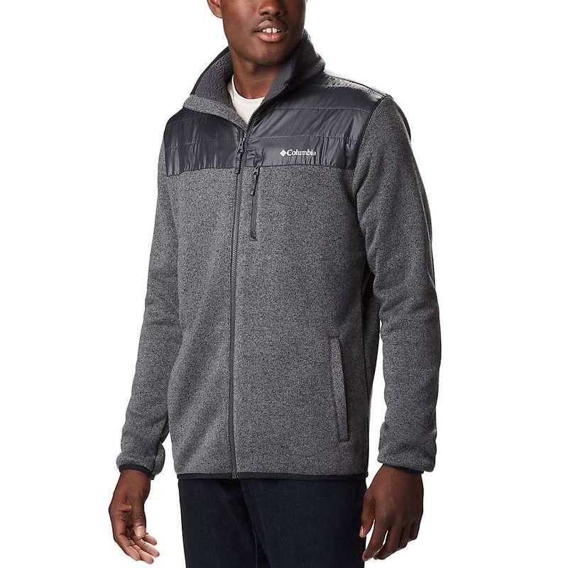 コロンビア メンズ ジャケット・ブルゾン アウター Columbia Men's Canyon Point Sweater Fleece Full Zip City Grey/Shark