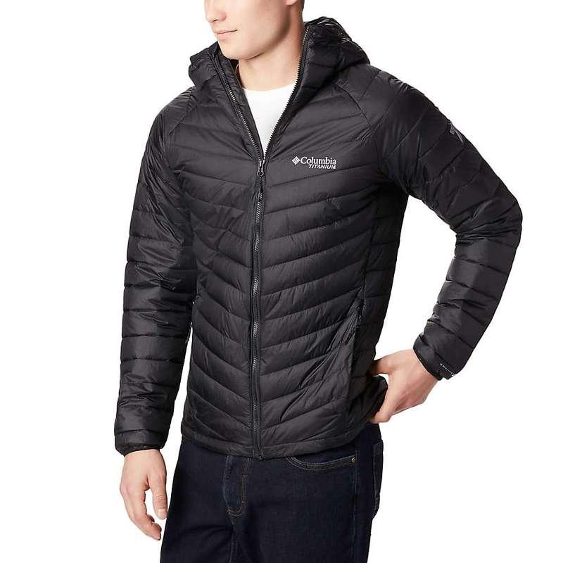 コロンビア メンズ ジャケット・ブルゾン アウター Columbia Men's Titanium Snow Country Hooded Jacket Black