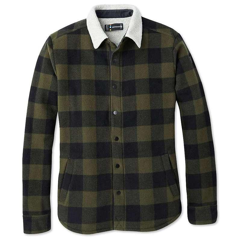 スマートウール メンズ ジャケット・ブルゾン アウター Smartwool Men's Anchor Line Sherpa Shirt Jacket Olive