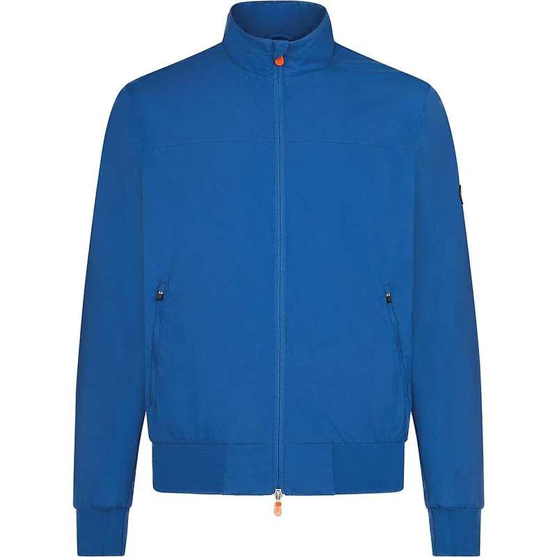 セイブ ザ ダック メンズ ジャケット・ブルゾン アウター Save The Duck Lightweight Men's Jacket Snorkel Blue