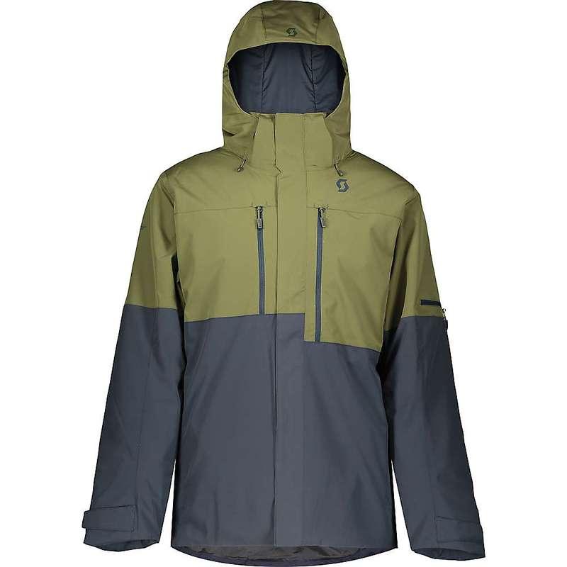 スコット メンズ ジャケット・ブルゾン アウター Scott USA Men's Ultimate Dryo 10 Jacket Green Moss / Blue Nights