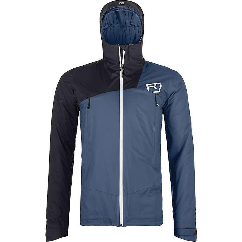 <title>送料無料 サイズ交換無料 オルトボックス メンズ アウター ジャケット ブルゾン Night Blue Ortovox Men's セール特別価格 2L Swisswool Leone Jacket</title>