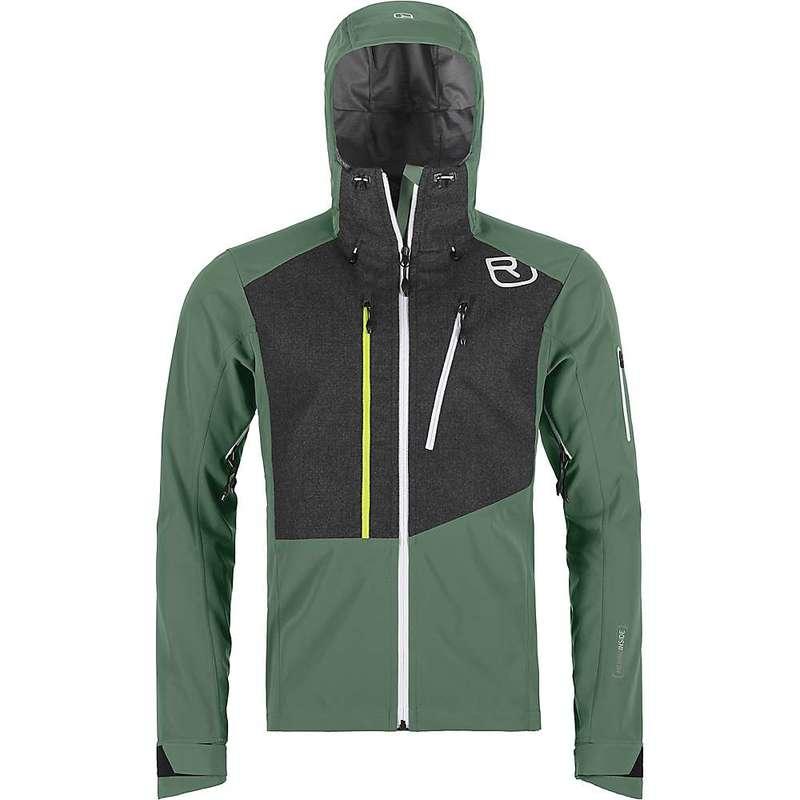 オルトボックス メンズ ジャケット・ブルゾン アウター Ortovox Men's Pordoi Jacket Green Forest
