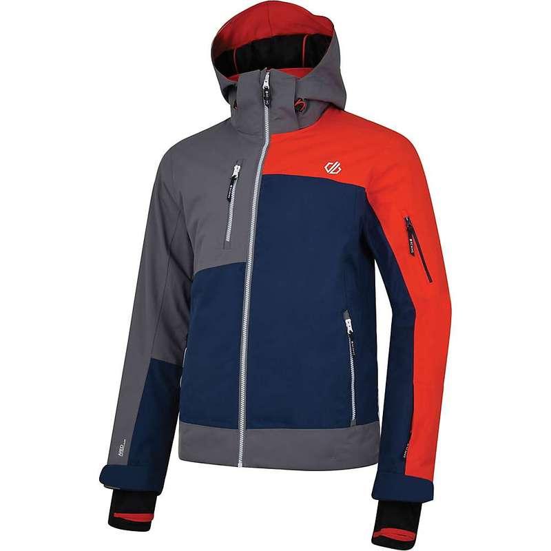 デアツービー メンズ ジャケット・ブルゾン アウター Dare 2B Men's Travail Pro Jacket Admiral Blue / Alumnium Grey / Fiery Red