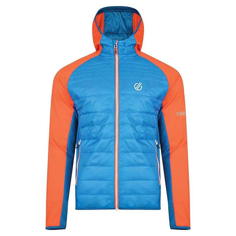 デアツービー メンズ ジャケット・ブルゾン アウター Dare 2B Men's Mountfusion Wool Hybrid Jacket Atlantic / Blaze Orange