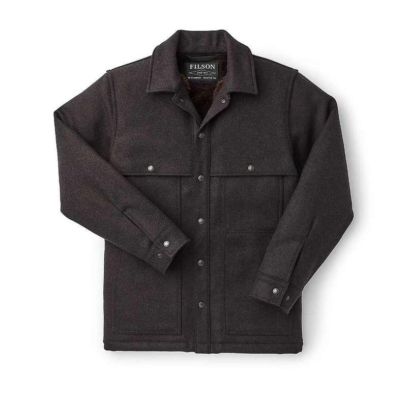 フィルソン メンズ ジャケット・ブルゾン アウター Filson Men's Lined Wool Cape Coat Brown / Black Twill