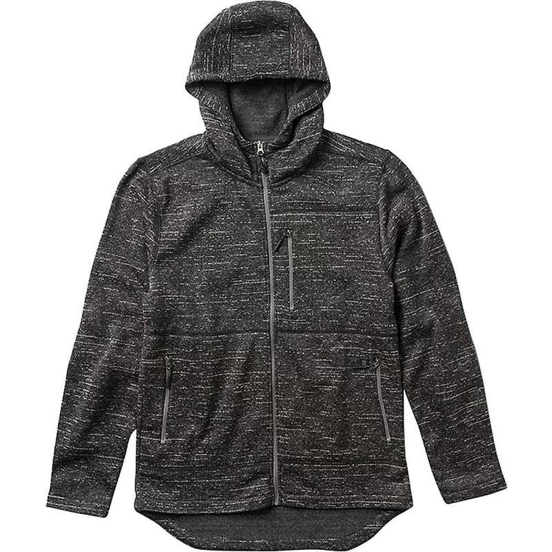 ローアク メンズ ジャケット・ブルゾン アウター Roark Men's Roadrunner Fleece Hoodie Charcoal