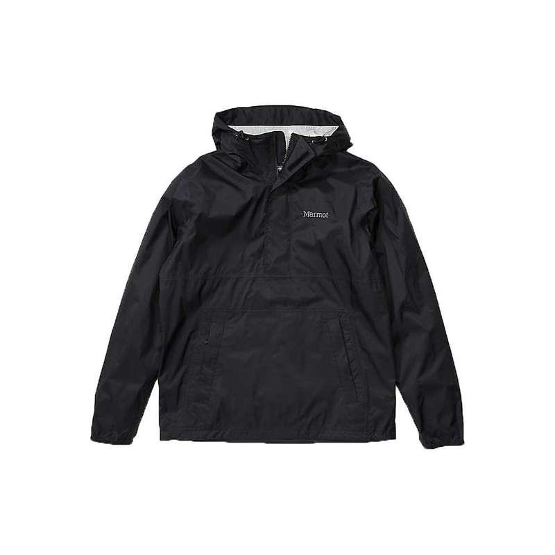 マーモット メンズ ジャケット・ブルゾン アウター Marmot Men's PreCip Eco Anorak Black