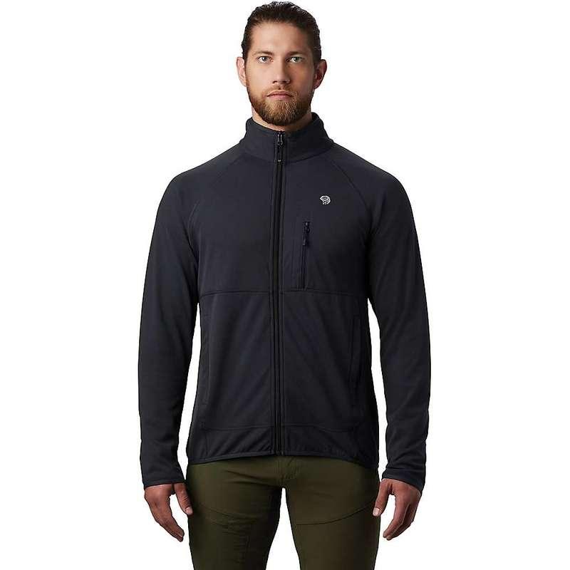 マウンテンハードウェア メンズ ジャケット・ブルゾン アウター Mountain Hardwear Men's Norse Peak Full Zip Jacket Dark Storm