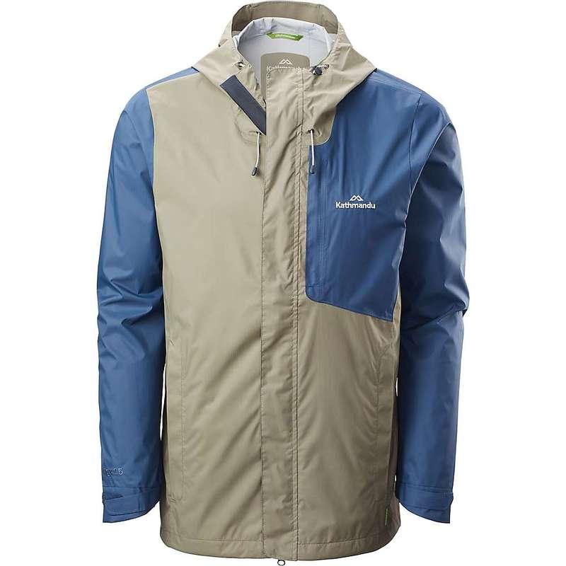 カトマンズ メンズ ジャケット・ブルゾン アウター Kathmandu Men's Trailhead Rain Jacket Blue Teal/Clay