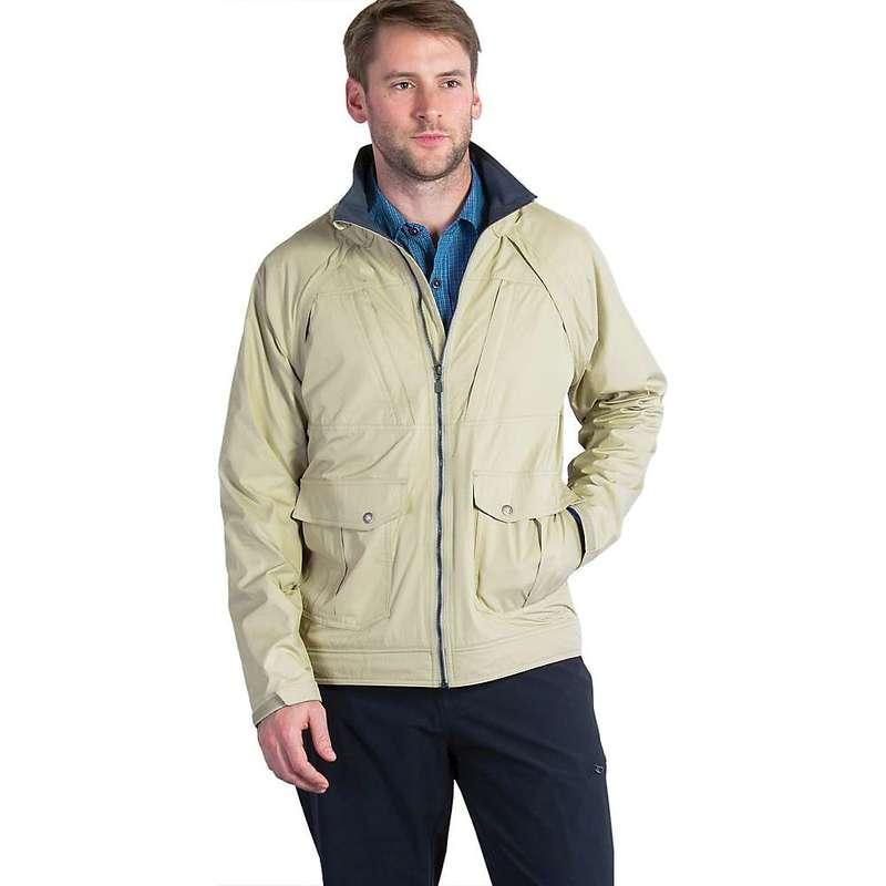 エクスオフィシオ メンズ ジャケット・ブルゾン アウター ExOfficio Men's FlyQ Convertible Jacket Light Khaki