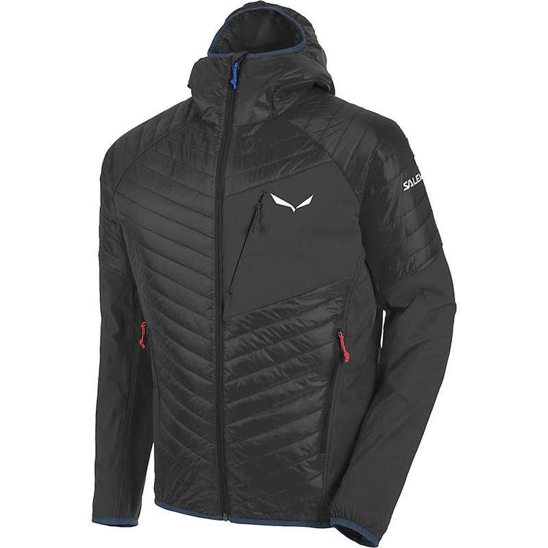 サレワ メンズ ジャケット・ブルゾン アウター Salewa Men's Ortles Hybrid 2 PRL Jacket Black Out