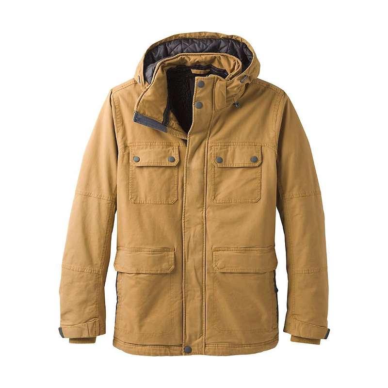 プラーナ メンズ ジャケット・ブルゾン アウター Prana Men's Bronson Towne Jacket Embark Brown