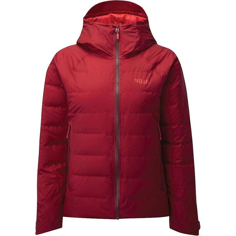 ラブ レディース ジャケット・ブルゾン アウター Rab Women's Valiance Jacket Crimson