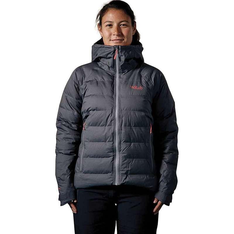 ラブ レディース ジャケット・ブルゾン アウター Rab Women's Valiance Jacket Steel / Passata
