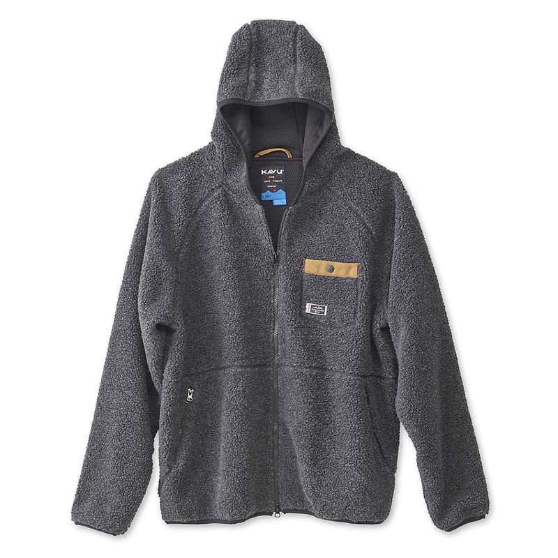 カブー メンズ ジャケット・ブルゾン アウター KAVU Men's Revelstoke Jacket Black Smoke