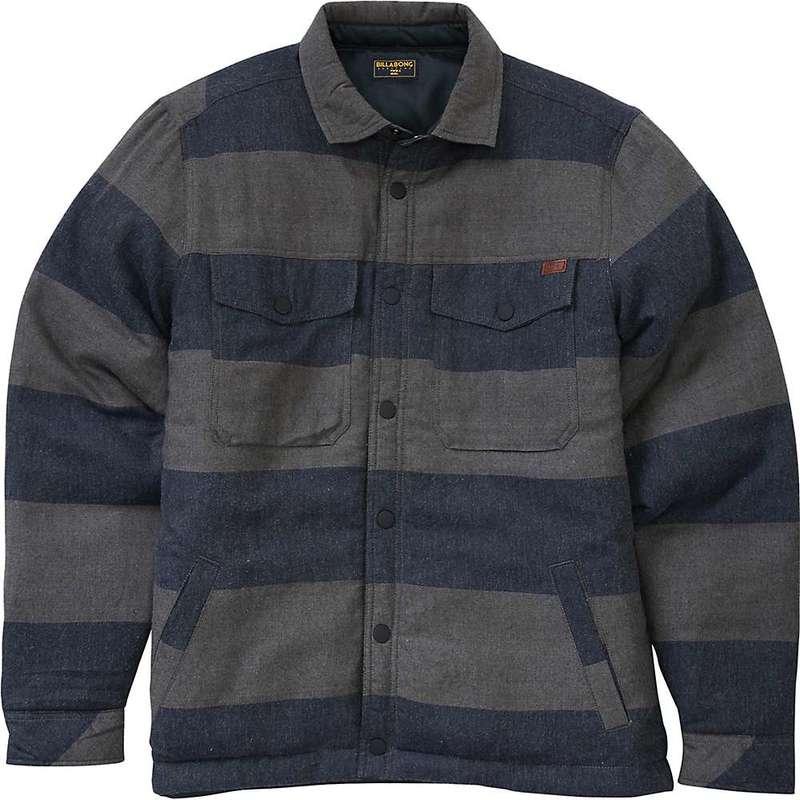 ビラボン メンズ ジャケット・ブルゾン アウター Billabong Men's Barlow Reversible Jacket Dark Grey Heather