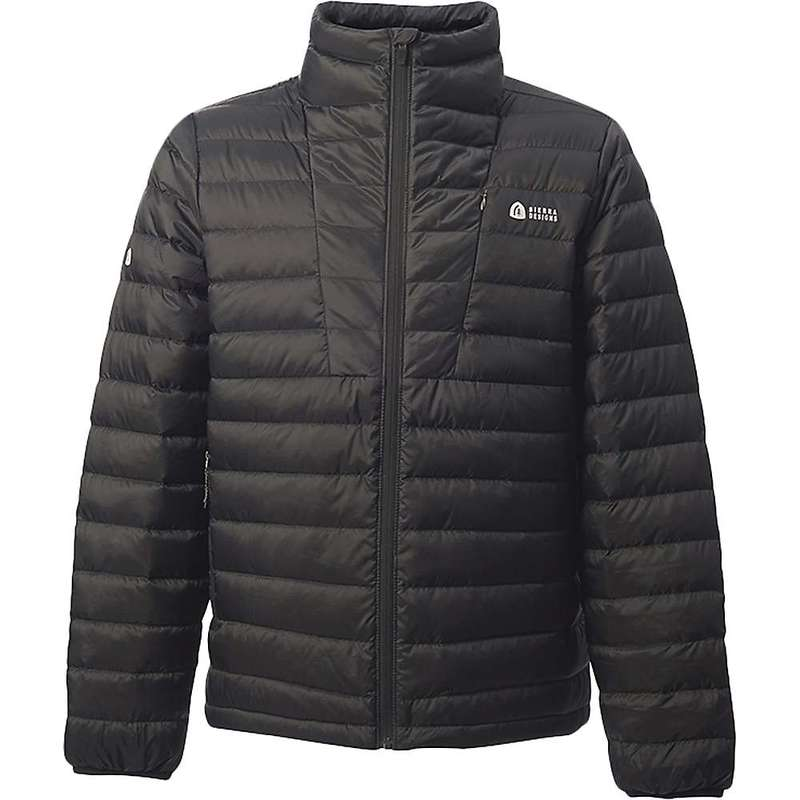シェラデザインズ メンズ ジャケット・ブルゾン アウター Sierra Designs Men's Sierra Jacket Black/Black