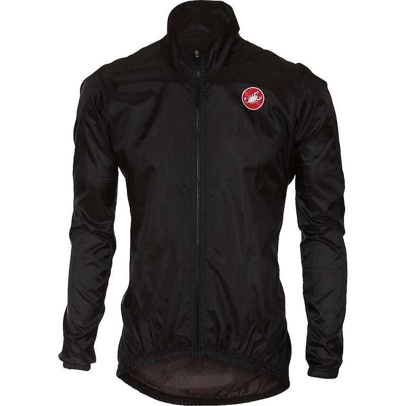 カステリ メンズ ジャケット・ブルゾン アウター Castelli Men's Squadra ER Jacket Black