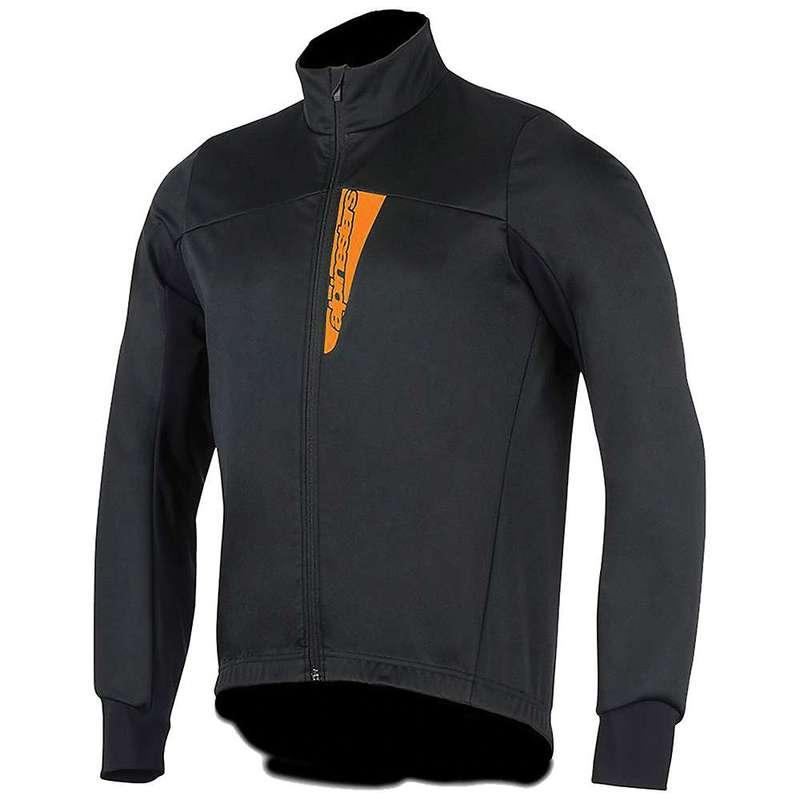 アルパインスターズ メンズ ジャケット・ブルゾン アウター Alpine Stars Men's Cruise Shell Jacket Black / Orange