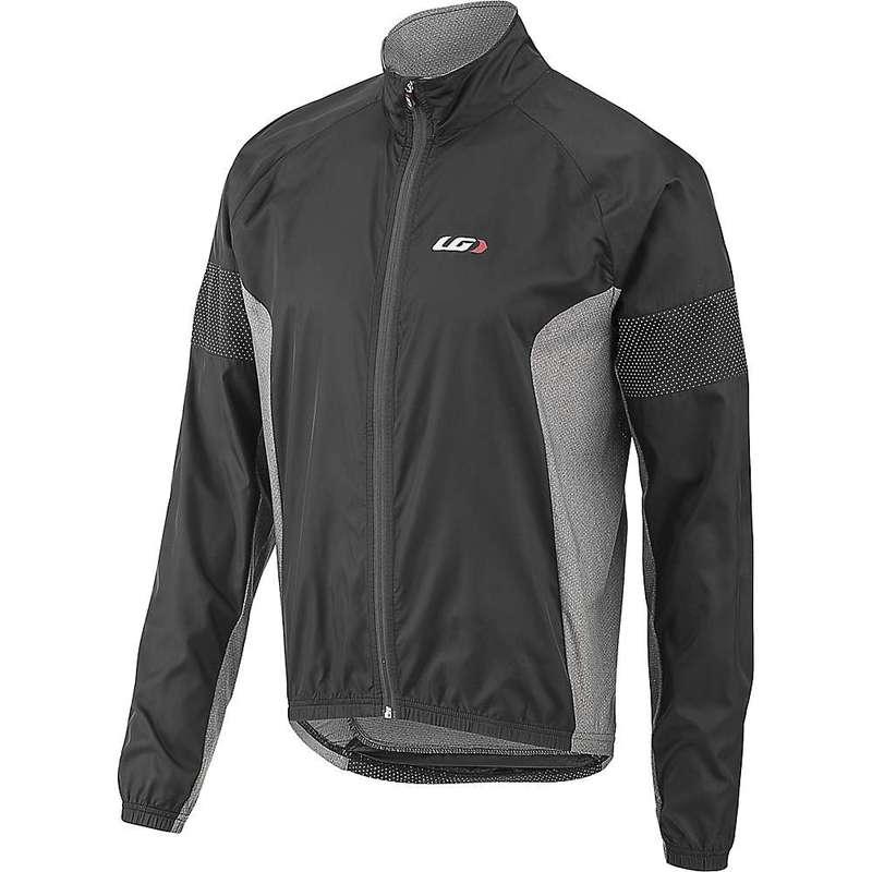 イルスガーナー メンズ ジャケット・ブルゾン アウター Louis Garneau Men's Modesto 3 Jacket Black / Gray