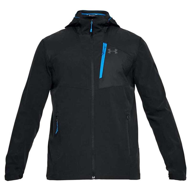 アンダーアーマー メンズ ジャケット・ブルゾン アウター Under Armour Men's UA Propellant Jacket Black / Black / Graphite