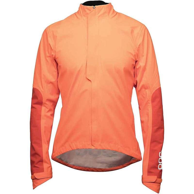ピーオーシー メンズ ジャケット・ブルゾン アウター POC Sports AVIP Rain Jacket Zink Orange