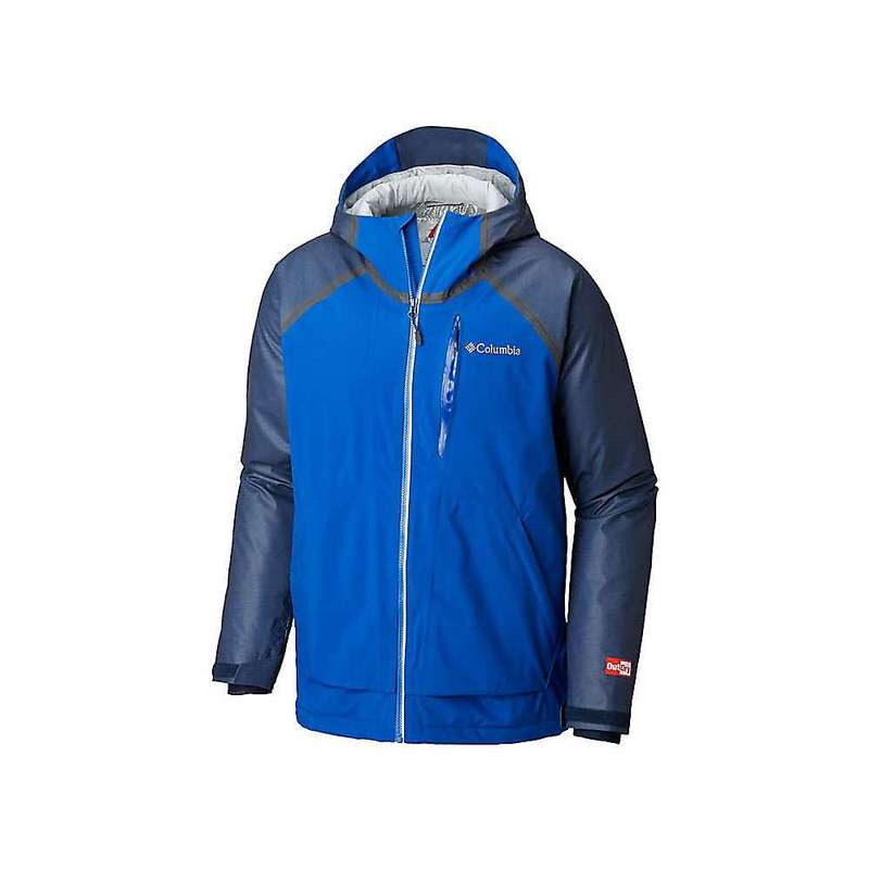コロンビア メンズ ジャケット・ブルゾン アウター Columbia Men's OutDry Glacial Hybrid Jacket Collegiate Navy Heather / Azul