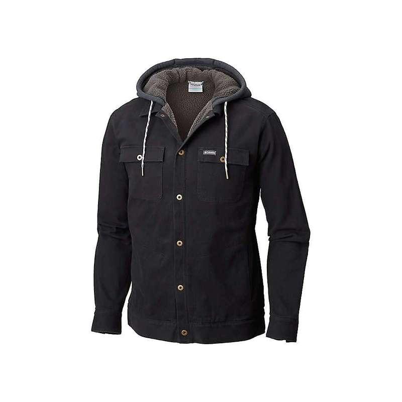 コロンビア メンズ ジャケット・ブルゾン アウター Columbia Men's Pilot Peak Shirt Jacket Black