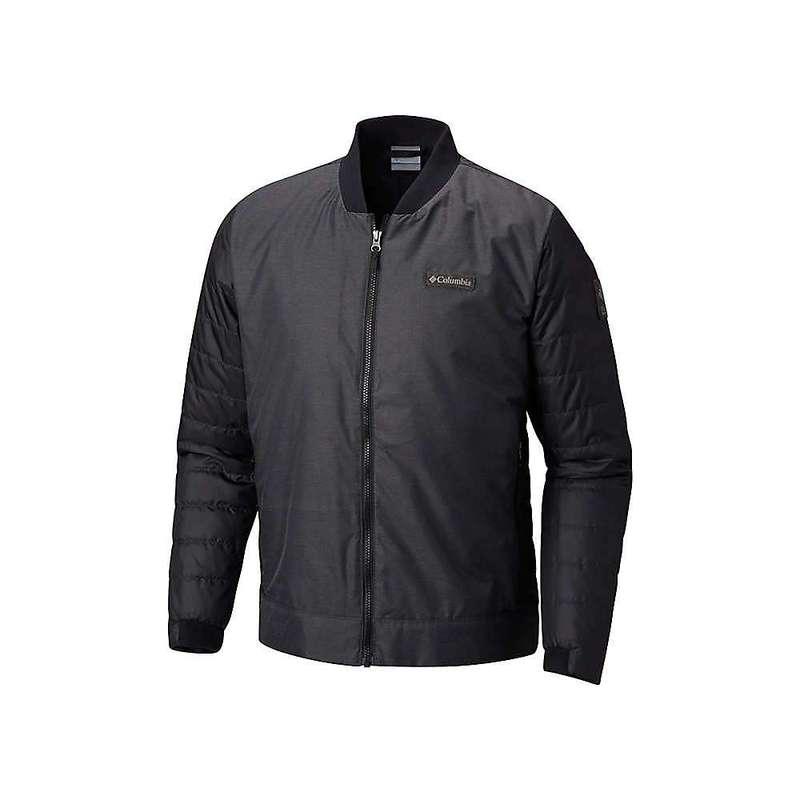 コロンビア メンズ ジャケット・ブルゾン アウター Columbia Men's Wilshire Park Hybrid Jacket Black / Shark