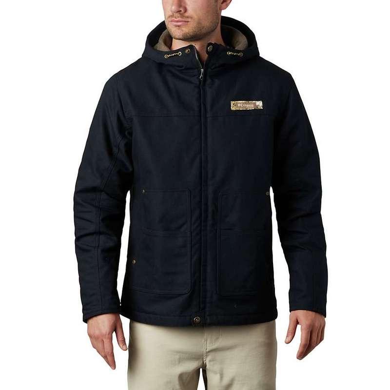 コロンビア メンズ ジャケット・ブルゾン アウター Columbia Men's Rough Tail Work Hooded Jacket Black