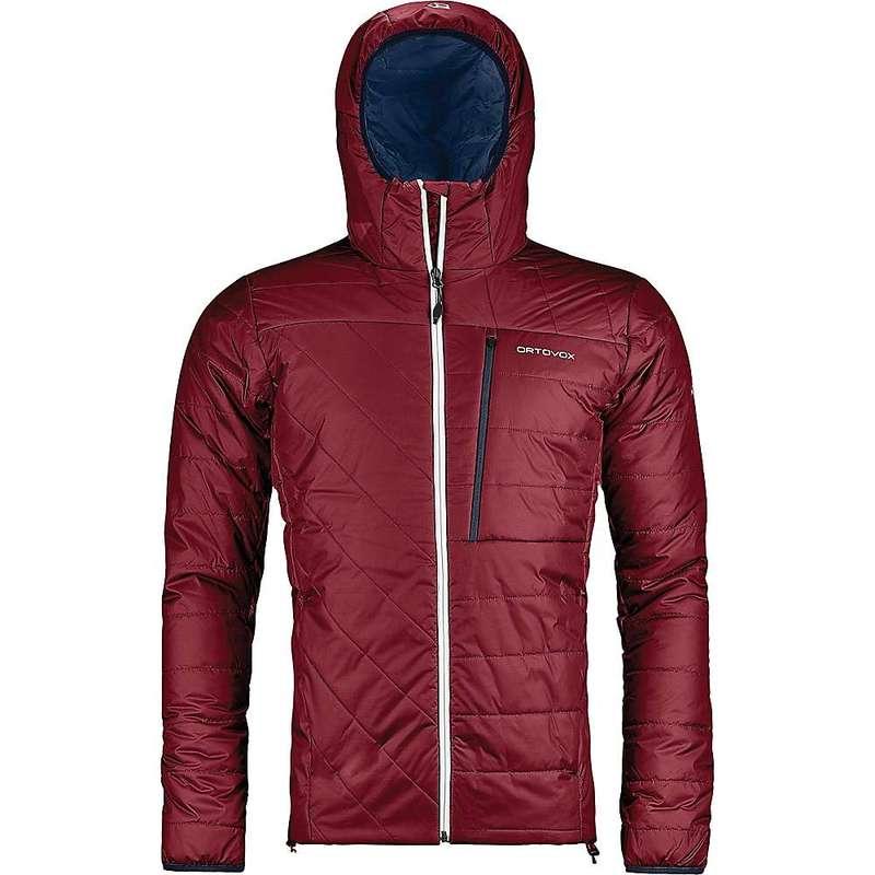 オルトボックス メンズ ジャケット・ブルゾン アウター Ortovox Men's Swisswool Piz Bianco Jacket Dark Blood