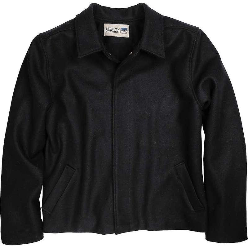 ストーミー クローマー メンズ ジャケット・ブルゾン アウター Stormy Kromer Men's Town and Country Jacket Black