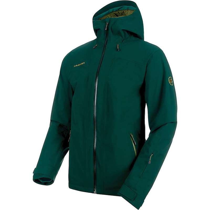 マムート メンズ ジャケット・ブルゾン アウター Mammut Men's Andalo HS Thermo Hooded Jacket Dark Teal / Clover