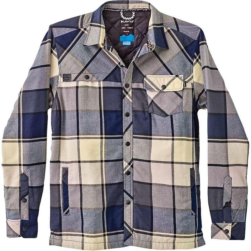カブー メンズ ジャケット・ブルゾン アウター KAVU Men's Stewart Shirt Jacket Midnight