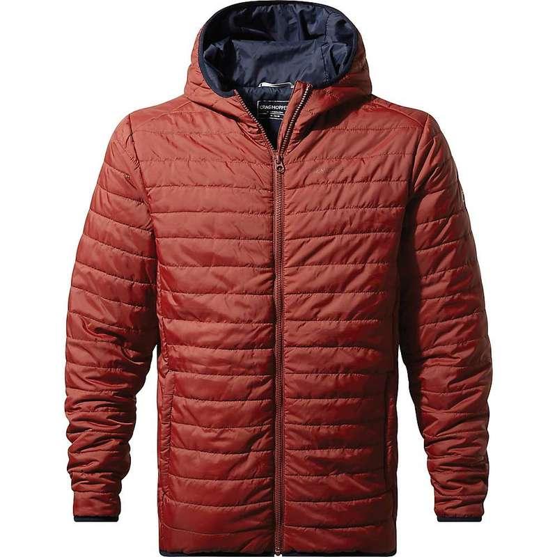 クラッグホッパーズ メンズ ジャケット・ブルゾン アウター Craghoppers Men's CompressLite III Hooded Jacket Firth Red