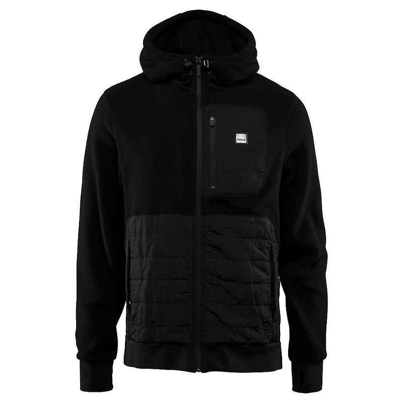 サーティーツー メンズ ジャケット・ブルゾン アウター Thirty Two Men's Filter Polar Zip Hood Jacket Black