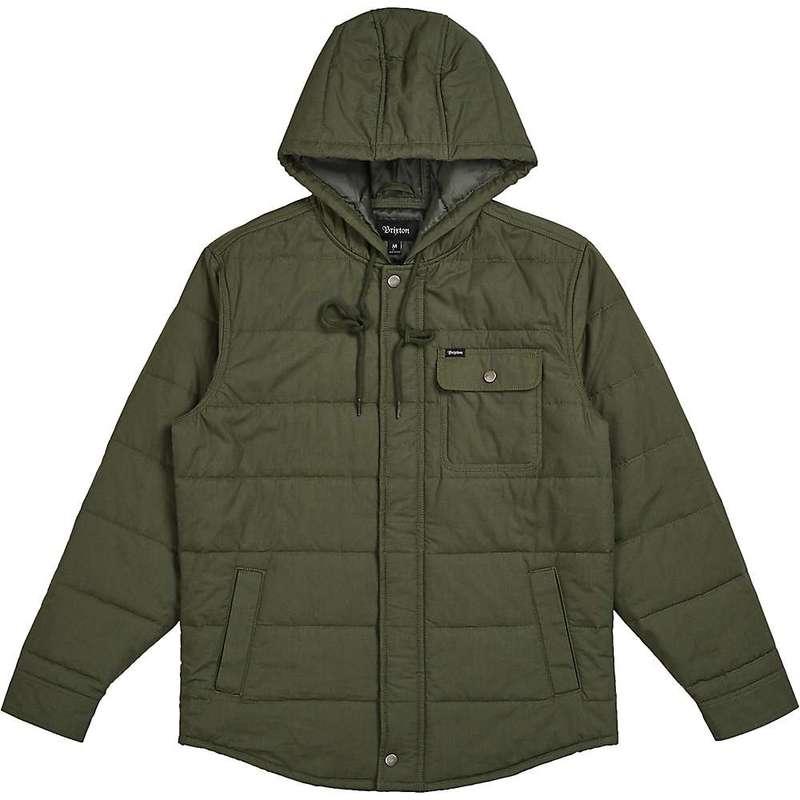 ブリクストン メンズ ジャケット・ブルゾン アウター Brixton Men's Cass Hood Jacket Pine