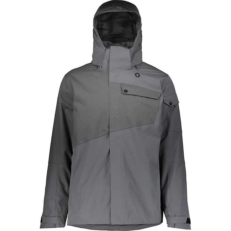 スコット メンズ ジャケット・ブルゾン アウター Scott USA Men's Ultimate Dryo 30 Jacket Iron Grey Oxford / Iron Grey