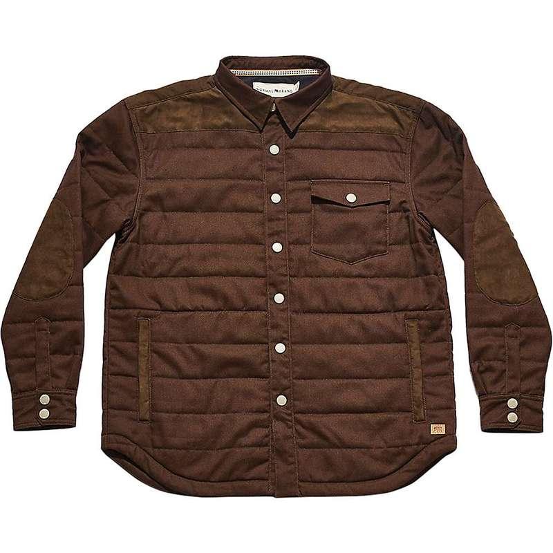 ノーマルブランド メンズ ジャケット・ブルゾン アウター The Normal Brand Men's Upland Town Jacket Brown